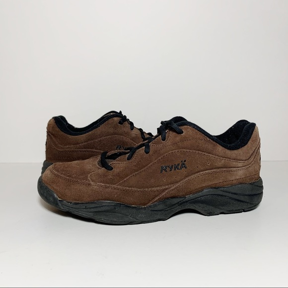 Catalyst Brown Suede Walking Sneakers